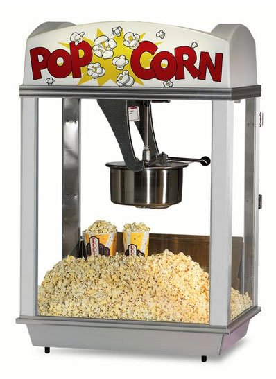 DELUXE WHIZ BANG POPCORN MACHINE 2005 - Allen Associates