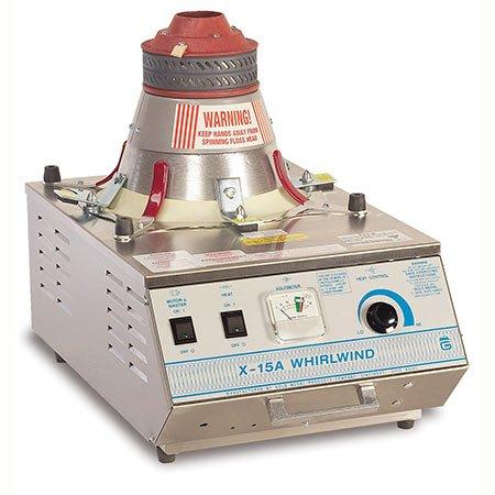 X-15 STAINLESS STEEL WHIRLWIND COTTON CANDY MACHINE 3015A - Allen Associates