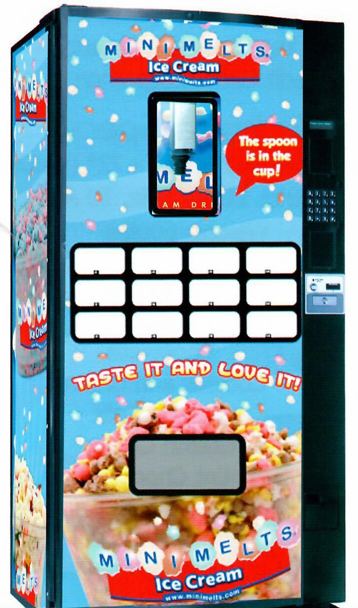 Z400 MINI MELTS VENDING MACHINE - Allen Associates