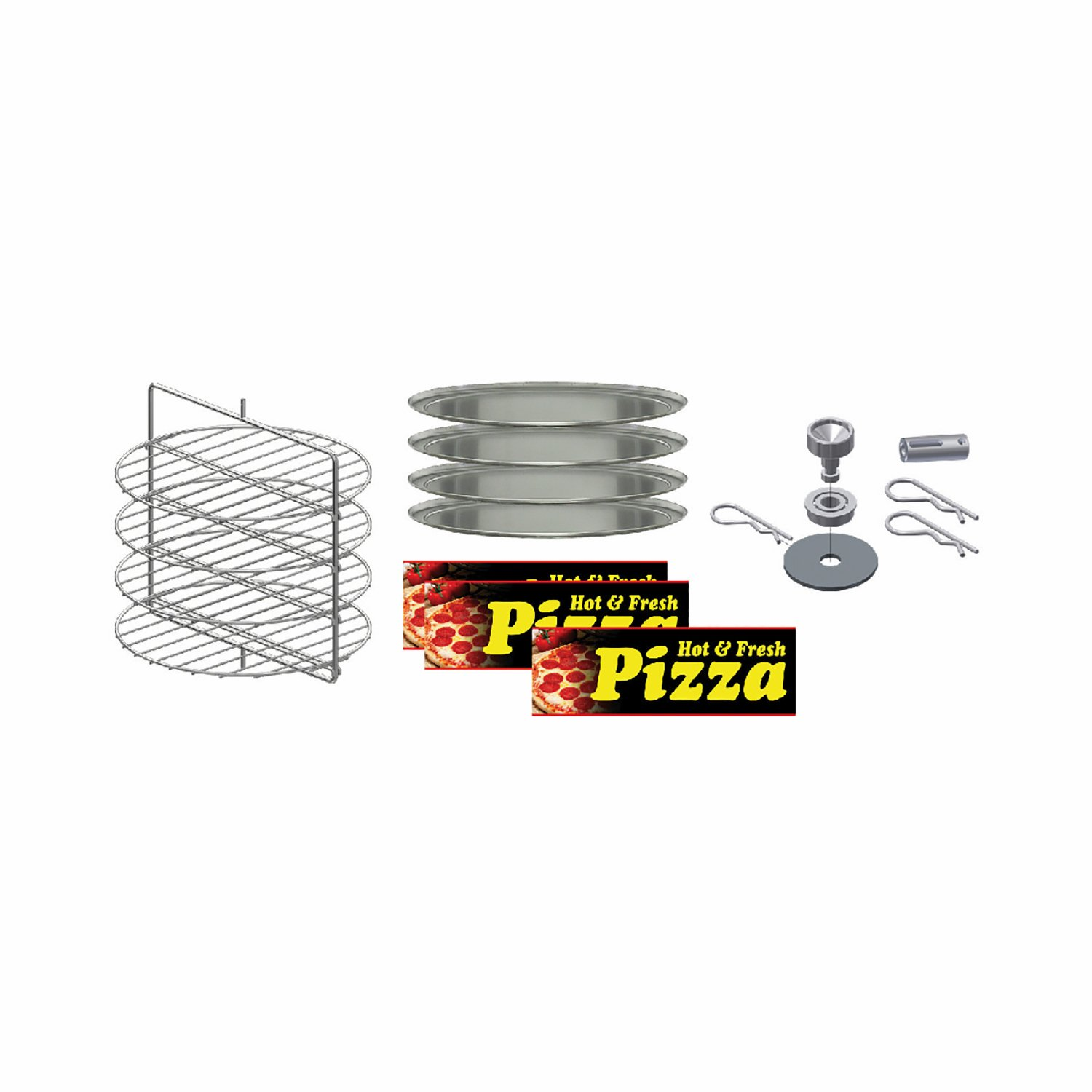 GOLD MEDAL LARGE PIZZA CABINET KIT MODEL: 5553-000 - Allen Associates