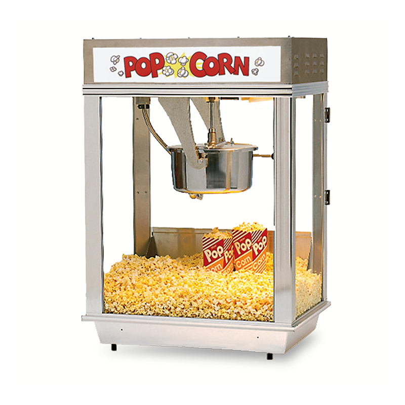 DELUXE WHIZ BANG POPCORN MACHINE WITH STAINLESS STEEL DOME 2003ST - Allen Associates